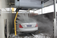 Full touchless automatic car wash machine water jet cleaning machine