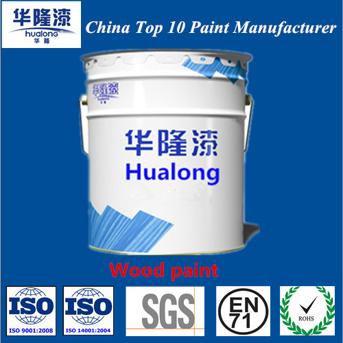 Hualong Crystal Super Shining PU Transparency Wooden Paint