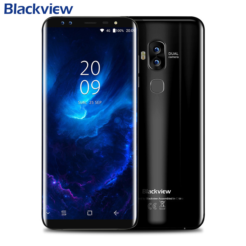 Blackview S8 5.7 inch HD+ 1440*720 18:9 Full Screen <strong>phone</strong> RAM 4GB ROM 64G 4G Finger ID smartphone i Phone7 Mobile <strong>Phone</strong> unlocked