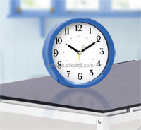Popular 6'' small desk alarm clock promotional, funny kids/chilren table alarm clock