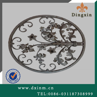 Professionnal Wrought Iron Fence Decoration window grill and beautiful house gates