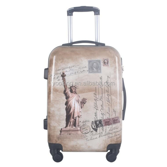 custom made eminent polo trolley luggage for promotional