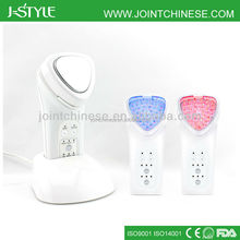 3-in-1 photon led light skin care galvanic face lift home use multifunction beauty machine