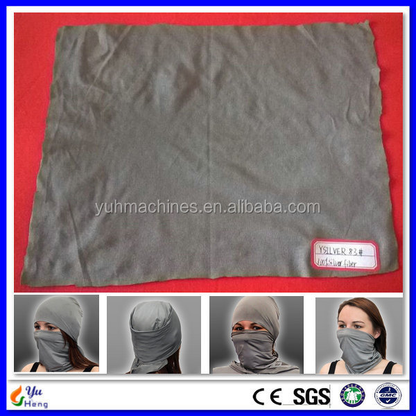 YSILVER83# Cell Phone Radiation Shielding Headgear material EMF Shielding anti radiation material