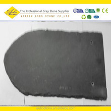 Rough Irregular U shaped Villa Roof decoration slate tile