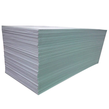 Water resistant foil backed gypsum board