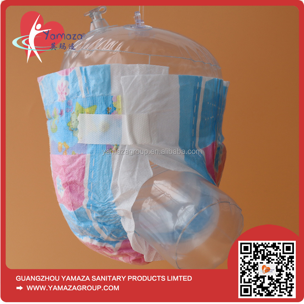 2016 Pampered All Size Disposable babyland Sleepy adult Baby Diaper Fujian Manufacturer