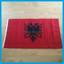 Albanie drapeau national