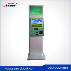 rfid card reader cash dispenser photo printing information terminal kiosk