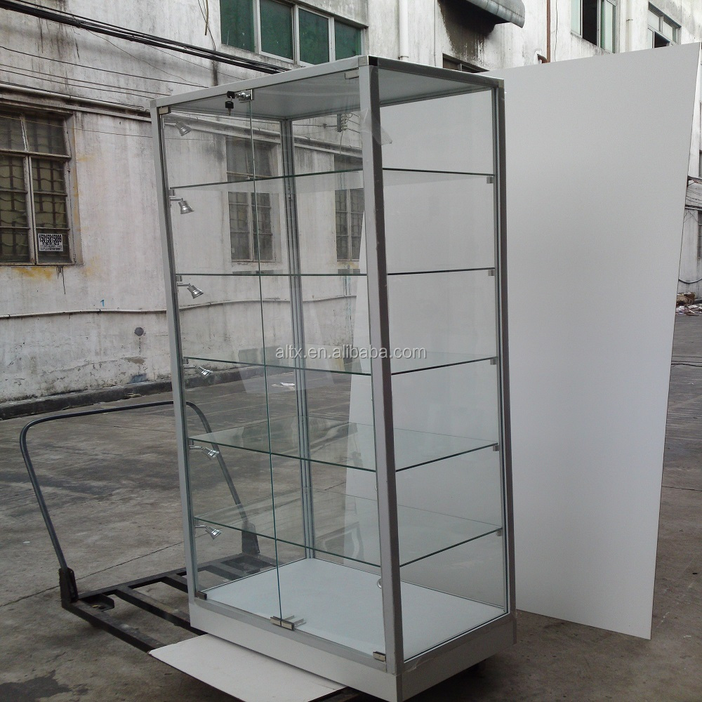 Modern style plexiglass acrylic glass <strong>mobile</strong> phone display cabinet