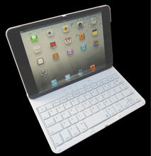 2in1 360 Swivel Rotating Bluetooth Keyboard +cover case for IPAD MINI