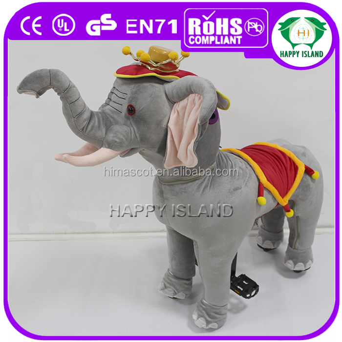 HI CE 2016 most hot walking mechanical horse, big toy horse, bouncing horse toy