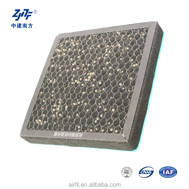 Round Air filter H13!Customize combined honeycomb activated carbon filter from gold supplier