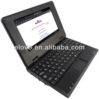 7 inch mini laptop netbook pc wm8850 notebook computer with holder stand
