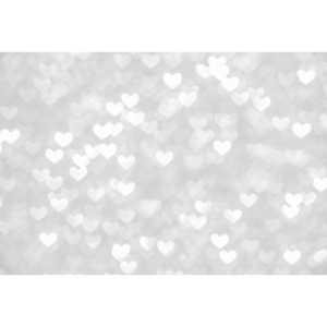 5x7ft valentine's day photography background silver bokeh back