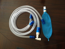 Disposable anesthesia breathing circuit tube