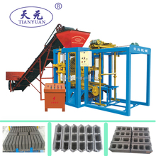 Hot sale model QTJ 4-26DN block brick production line/semi automatic block machine/solid bricks making
