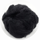 black color recycled pet non woven textile polyester waste fibre