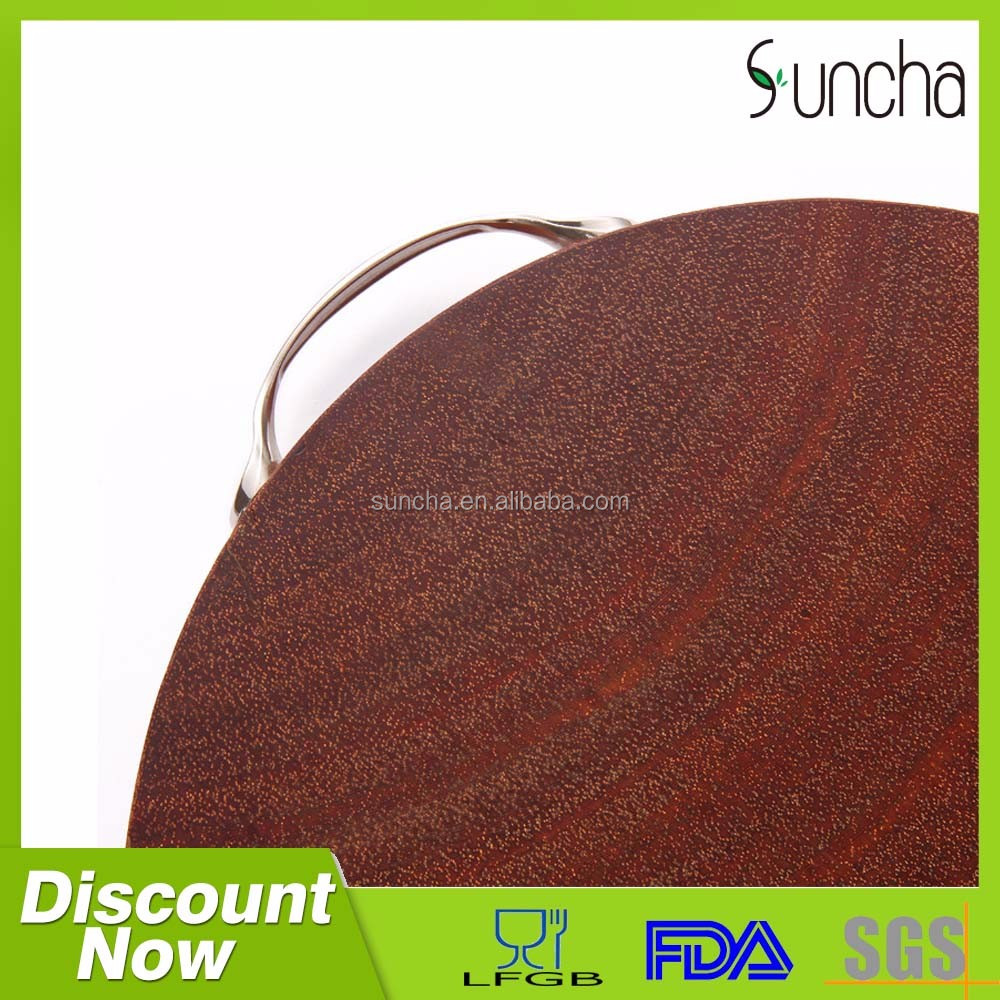 china wholesale custom cutting board rubber wood finger joint lamination board