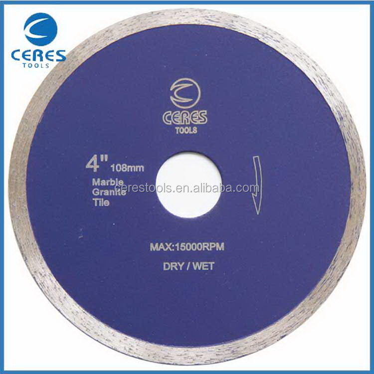 Direct factory price fast delivery wet tile diamond saw blade
