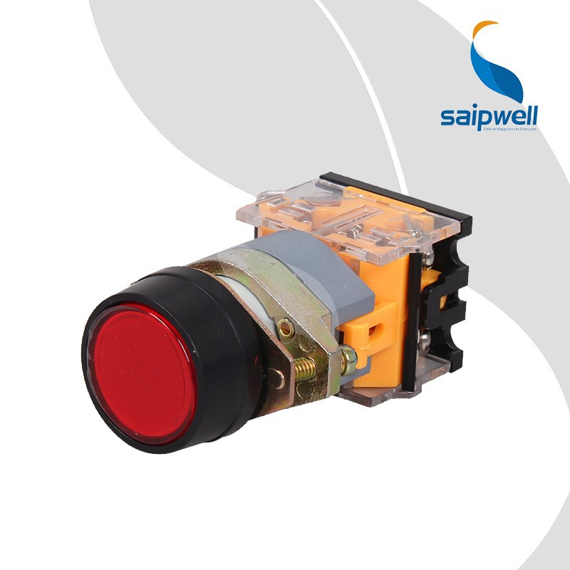 Saipwell Red 12 Volt Push Button Switch IP65 Waterproof 12 Volt Push Button Switch