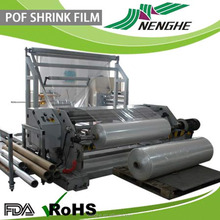 food grade plastic wrap type and Shrink Film Type POF shrink wrapping film