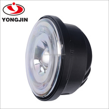 Made In China auto led light with halo ring 4.5 inch angel eyes motorcycle led head lamps for harley