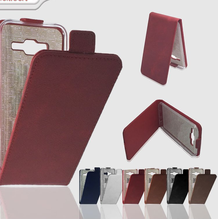 Flip down leather case cover smartphone cases covers for iphone 4 4s 5 5s 5c 5se 6 6s 6c plus se