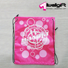 Fashionable Sport Waterproof Flexible Nylon Drawstring Bag Shopping Bag