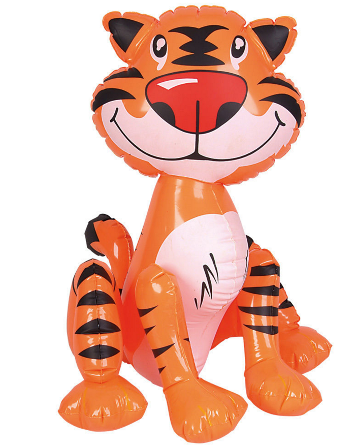 pvc inflatable tiger / inflatable toys animal model / pvc plastic tiger