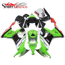 SBK SYKES 10 Motorcycle ABS Fairings For Kawasaki Ninja ZX10R ZX-10R 08 09 10 2008 2009 2010 Injection Covers Fairing Kit