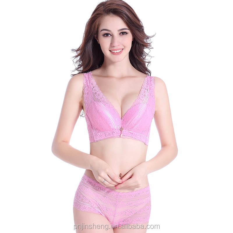 Women's Embroidery Bras Set Ladies Bra Underwear Sex Girls Photos