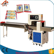 automatic Rotary Pillow clip bread Packing Machinery flowpack machine