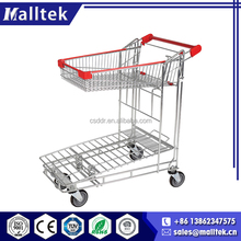 2016 Effective Foldable Humanized Store Transport Cart