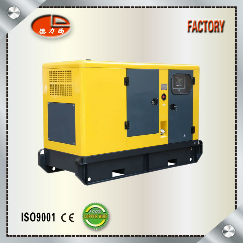 Chinese Brand Weichai Engine Small Diesel Generators For Sale(CE Approval)