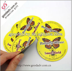 Round fridge Magnets China Manufacturer New Product Cheap Butterfly Fridge Magnets