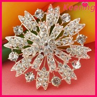 China wholesale fashion costume jewelry crystal brooch pin WBR-1269
