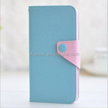 New Design Mix Color Leather Flip Case for Blackberry Z10