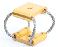 CR6 model Compact Wire Rope Isolator vibration absorber shock absorber camera mount