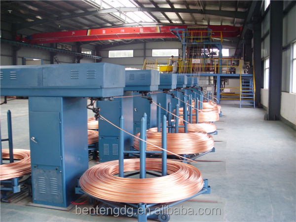 TWO ROW electrolytic copper cable making machine