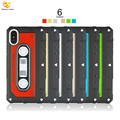 Tape Classic Nostalgia Hybrid for Apple Silicone iPhone X Accessories Case