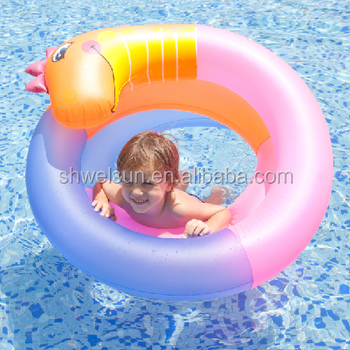 New design inflatable pool float Sea Horse Coil