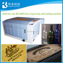 BT-4060 glass wine bottle laser engraving machine for engraving or cutting leather,mdf,wood,acrylic