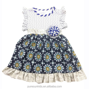 summer boutique kids clothing casual baby girl dresses