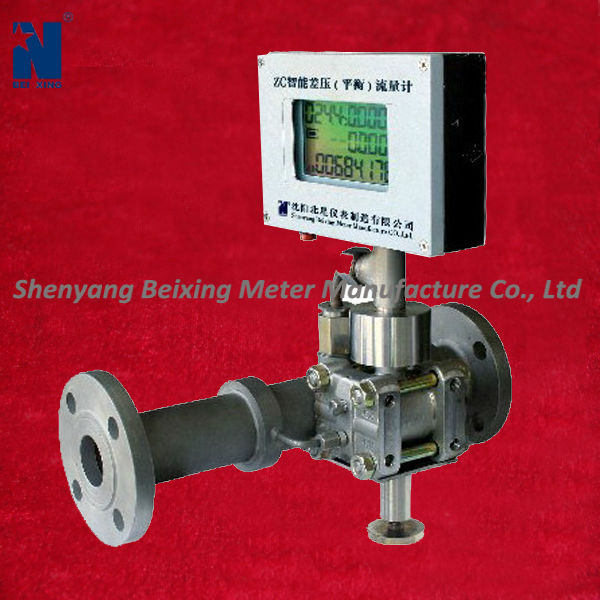 Oil/water/chemical differential pressure flow meter with digital output