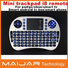 Original i8 Russian Version i8+ 2.4GHz Mini Wireless Keyboard Air Mouse Touchpad Handheld for Android TV BOX Tablet Mini PC