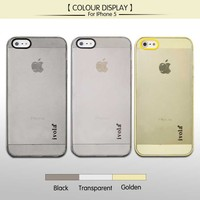 Camera Cover Phone Case , Soft TPU Slim Mobile Phone Case For iphone 5 5s