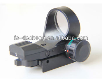 HD-7 red dot sight scope with 4 reticles