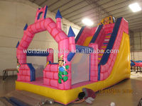 inflatable jump castle with slide IT-4226