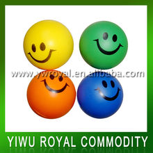 Smile Face Colorful Antistress Small Foam Balls